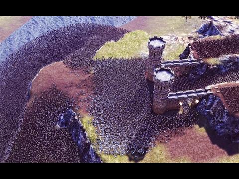 25k Castle Siege(Improvement In AI Pathfinding) - Ultimate Epic Battle Simulator