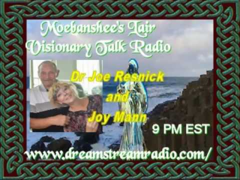 Dr Joe resnick and Joy Mann