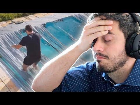 REAGINDO AOS MAIORES FAILS DO CANAL ÁREA SECRETA !! ( DEU TUDO ERRADO! )