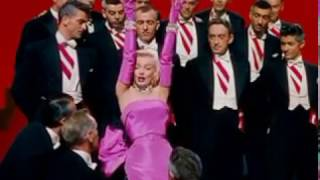 "Jack Cole choreographs for Marilyn Monroe in ""Diamonds Are A Girl"