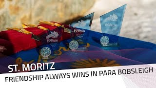 Friendship always wins in Para Bobsleigh | IBSF Para Sport Official