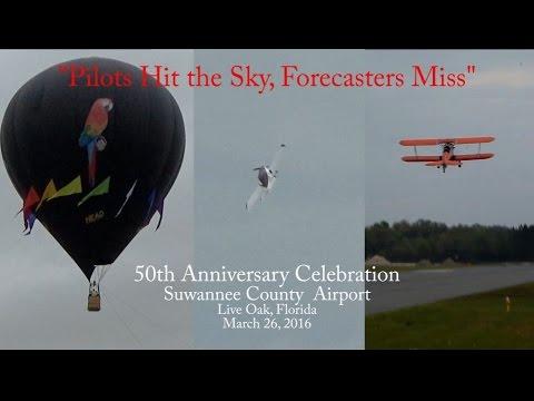 50th Anniversary Celebration - Suwannee County Airport 3-26-16