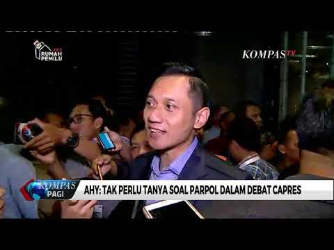 AHY: Tak Perlu Tanya Soal Parpol Dalam Debat Capres Mp3