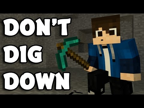 ♪ 'Don't Dig Down' - A Minecraft Song Parody of 'Don't Look Down' by Martin Garrix (Music Video)