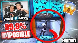 PARKOUR 99.9% IMPOSIBLE EN FORTNITE!!! #1 PINO & ARES