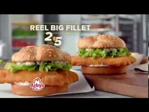 TV Spot - Arby's - Reel Big Fillet Fish - Discover The Truth About Arby's Fish