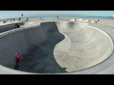 Venice Beach Skatepark - Sunrise Session - Winter 2009