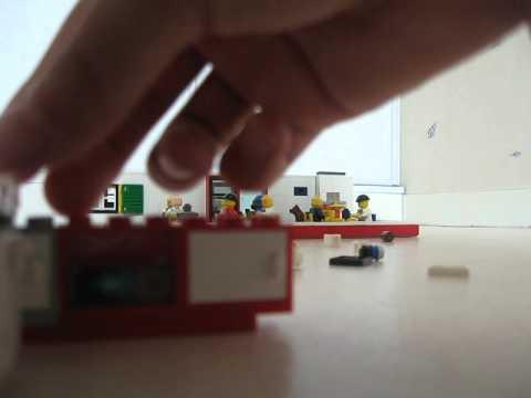 Comment Construire Une Cuisine En Lego  Youtube