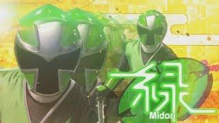 (Fan-Made)Green Ranger in Power Rangers Super Ninja Steel