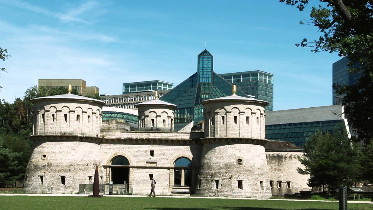 Museum of modern art grand duc jean mudam luxembourg youtube - Tourist office luxembourg ...