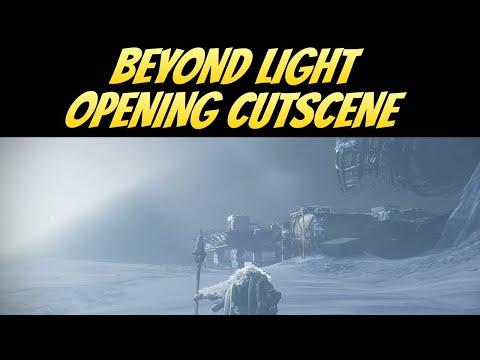 Destiny 2 Beyond Light Opening Cutscene  