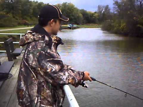 Ohio And Erie Canal Rainbow Trout Fishing - Mr Chomp