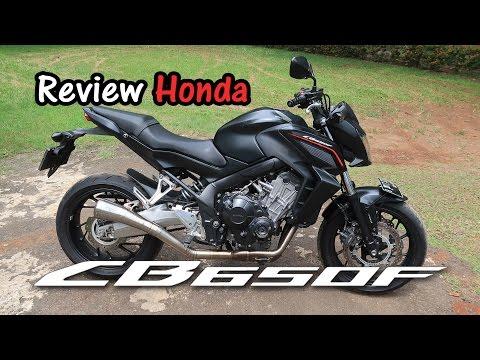 Review Honda CB650F 2014 Indonesia