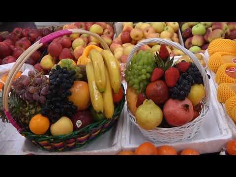"""Собрать и оформить фруктовую корзину в качестве подарка помогут в """"Зеленой лавке"""" Биробиджана"""