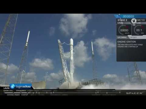 SpaceX News - Elon Musk fliegt mit SpaceX 2018 zum Mond - ARD