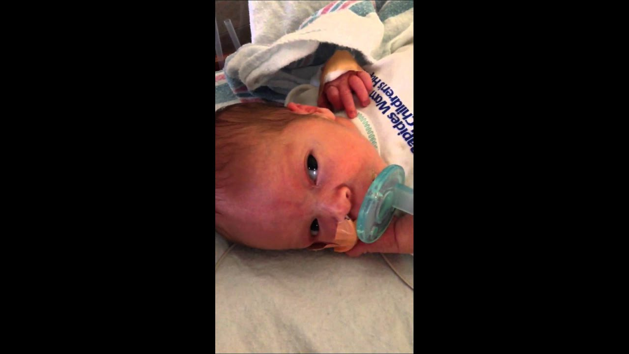 Our baby boy at 36 weeks gestation. - YouTube