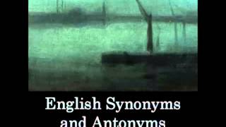 English Synonyms and Antonyms (FULL Audiobook) - part 2