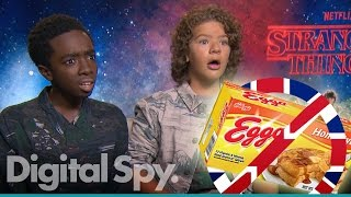 The UK needs Eggos! Stranger Things interview