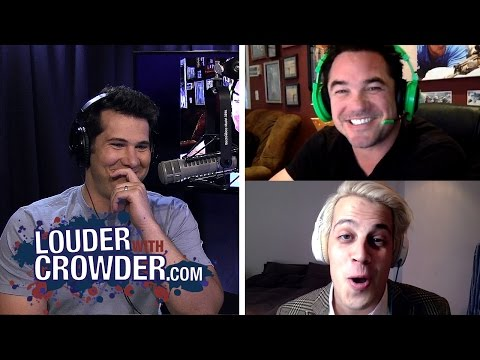 Milo Yiannopoulos and Dean Cain Geek Out and Talk #GamerGate | Louder With Crowder