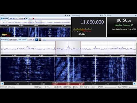 15 01 2018 Republic of Yemen Radio in Arabic to ME 0655 on 11860 Jeddah