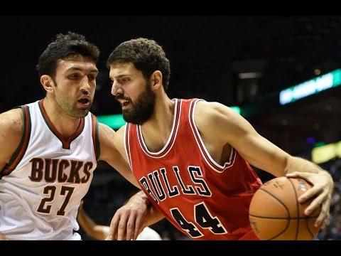 Nikola Mirotic Bulls 2015 Season Highlights