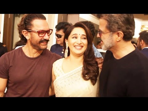 Aamir Khan,  Madhuri Dixit And Anil Kapoor Unite, It's Total Dhamaal