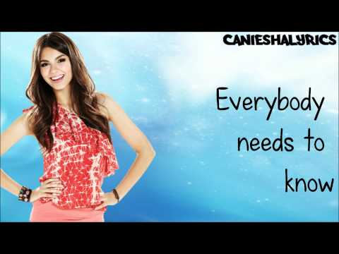 Victoria Justice  Youre The Reason Lyrics  HD