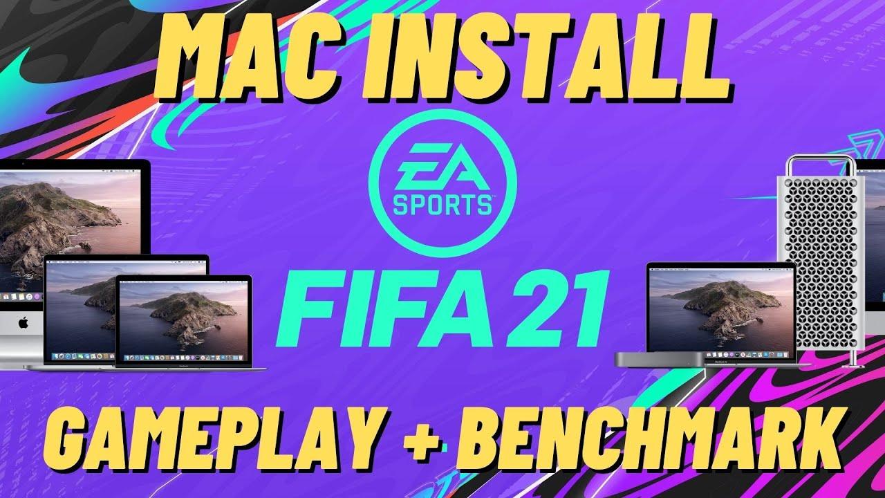 FIFA 21 - Mac Install Tutorial [Boot Camp] + Gameplay MacBook Pro 2019 Intel Iris 645