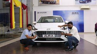Hyundai AURA 2020 detailed review and ONROAD PRICE in telugu || Telugu car review