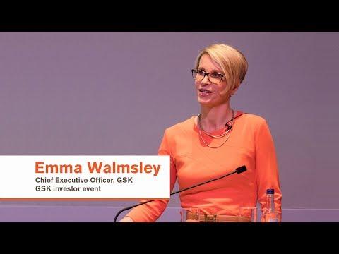Emma Walmsley GSK investor event presentation