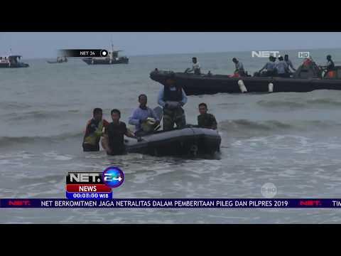 Tim SAR Temukan Badan Pesawat Lion Air JT 610 Di Kedalaman 31 Meter   NET24 Mp3
