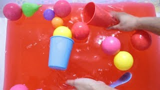 Kids Play time with Slime Gooey