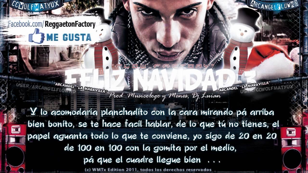 """Arcangel - """"Feliz Navidad 3 & 4"""" con Letra ★New Reggaeton 2011 ..."""