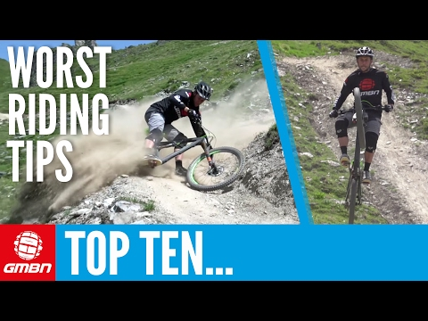 Top Ten Worst Mountain Bike Riding Tips