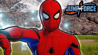 SPIDERMAN JOINS JUMP FORCE! Spider Man Homecoming Gameplay Mod