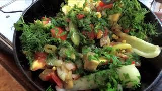 Готовим жареные овощи на сковороде