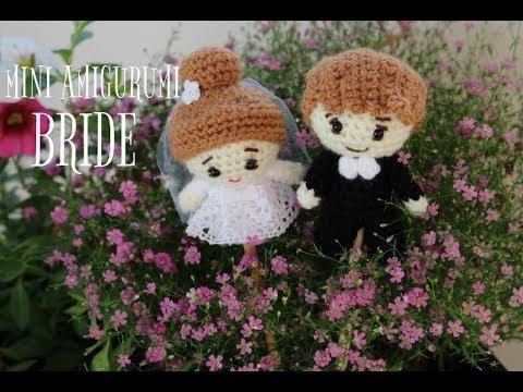 Bride & Groom Amigurumi pattern, Perfect Wedding Gift – G store ... | 360x480