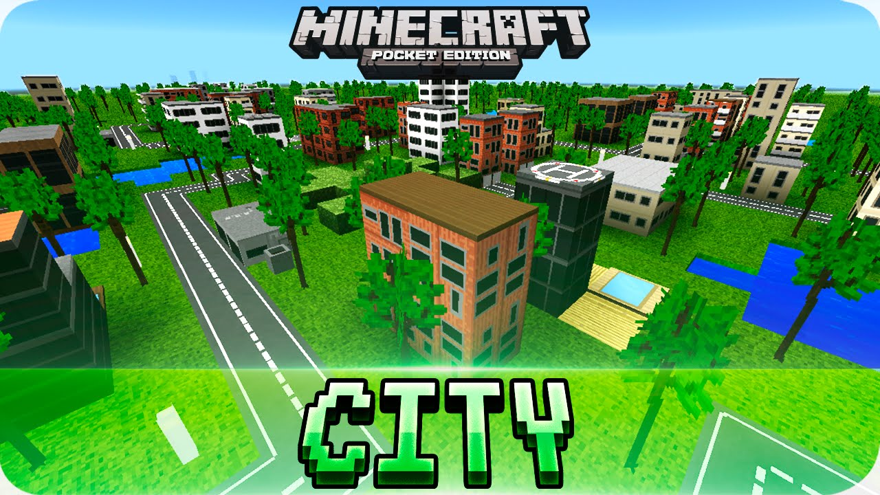 minecraft pe build your own mini city texture pack with download 1 0 4 1 0 mcpe youtube. Black Bedroom Furniture Sets. Home Design Ideas