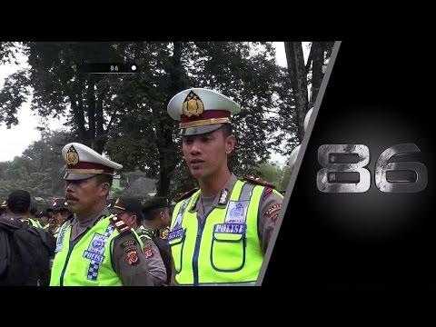86 Pengamanan Sebelum Pertandingan & Pengawalan Supporter Persib Ke Gelora Bung Karno