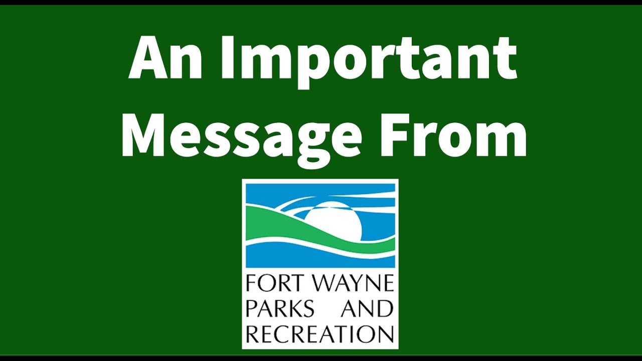 Home Fort Wayne Parks And Recreation