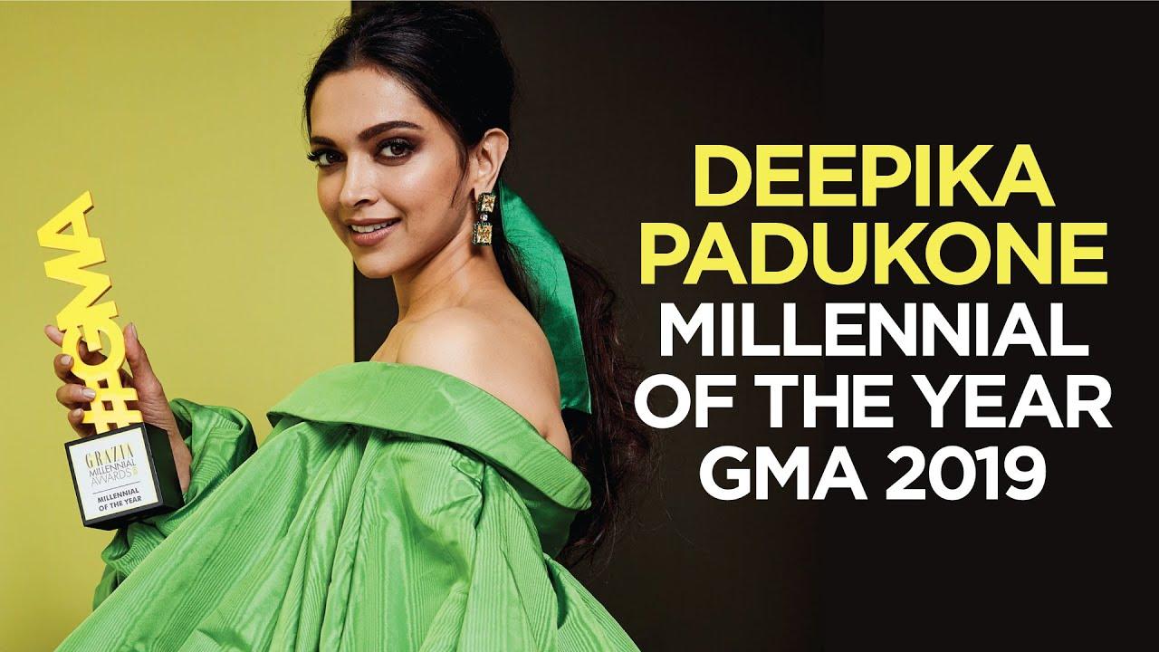 Download Deepika Padukone's Winning Speech | Millennial of the Year | Grazia Millennial Awards 2019