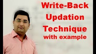 Memory Organization-19: Write back updation technique with example