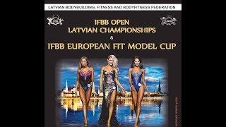 IFBB European Fit Model Cup 2018, April 22nd, Riga, Latvia