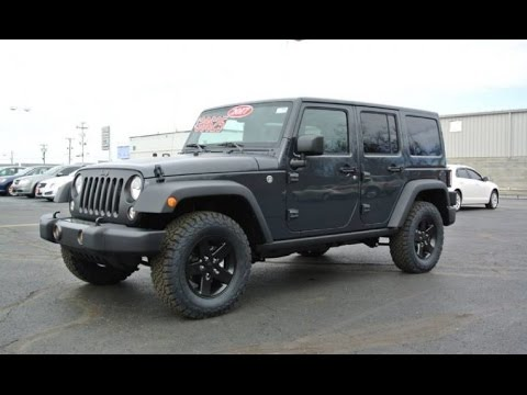 2017 jeep wrangler unlimited big bear for sale dayton troy. Black Bedroom Furniture Sets. Home Design Ideas