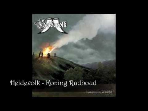Heidevolk - Koning Radboud (English Subtitles) mp3