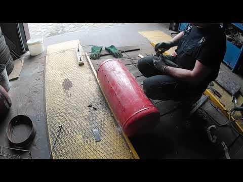 Супер гриль+смокер+мангал из газовых баллонов. Своими руками. Часть 3 /GRILL+SMOKER HAND MADE