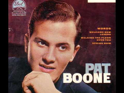 Pat Boone - Words 1960 ((Stereo))
