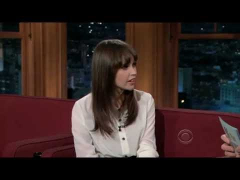 Felicity Jones on The Late Late Show with Craig Ferguson (12/21/2011)