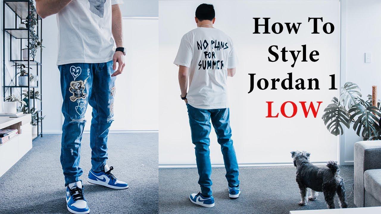royal jordan 1 outfit