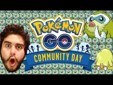 HISTORIAS DEL COMMUNITY DAY DE MAMOSWINE!! | 1077 | POKEMON GO thumbnail